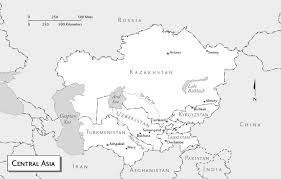 Eurasia Map Maps Of Turkmenistan