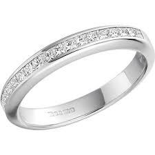 white gold eternity ring princess cut diamond eternity ring in 18ct white gold pd217w