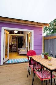 Our Favorite Outdoor Rooms - ben u0027s tiny but comfy 250 square foot studio studios therapy and
