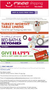 Online Coupon Bed Bath And Beyond Bed Bath U0026 Beyond Black Friday 2017 Sale Cyber Monday 2017