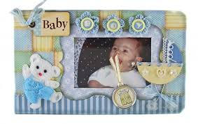 5 X 5 Photo Album Embellished Cover Baby Boy Scrapbook Photo Album 5 X 7 Beatiful