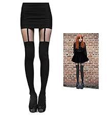cute stockings tights women mock stockings cute design free size women pantyhose