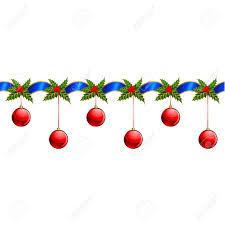 beautiful christmas garland vector royalty free cliparts vectors