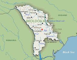 where is moldova on the map moldova republic of map travelquaz