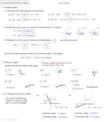 math plane angle measurement