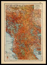 1914 World Map by War One Map Of Serbia 1914 1918