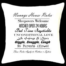 nannies house rules u2013 parkway designs