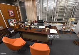 mad men office in focus mad men style and design photos and images getty images