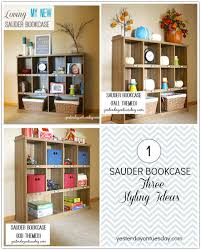 Sauder Bookcase Styling A Sauder Bookcase Yesterday On Tuesday