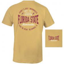 Comfort Colors Washed Denim Fsu Seminole Apparel Comfort Colors Unisex T Shirt With Surf Co