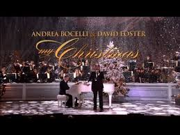 my christmas andrea bocelli david foster my christmas live at the kodak