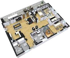 56 modern house floor plans contemporary courtyard house plan
