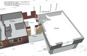 Side Garage Floor Plans by Image Of 3d Attached Garage Addition Plansattached Floor Plans