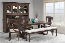 Trestle Dining Room Table by Amish Georgetown Double Trestle Dining Table