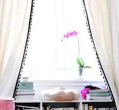 White Curtains With Blue Trim Decorating Best 25 Plain Curtains Ideas On Pinterest Brown Bedroom