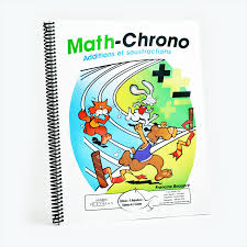 math chrono additions et soustractions éditions de l u0027envolée