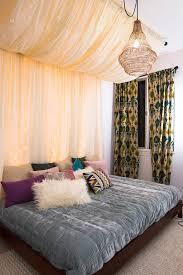 diy bed canopy mr kate diy fairy lights canopy