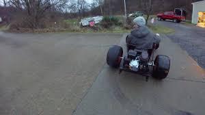 homemade truck go kart wheelbarrow go kart youtube