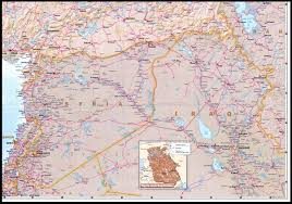 Syria And Iraq Map by Nationmaster Maps Of Syria 19 In Total
