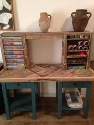 diy cheap pallet wood computer desk with drawers 30 was all it