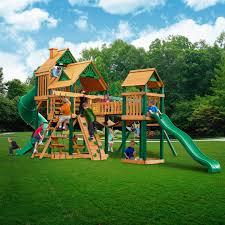gorilla playsets treasure trove swing set green vinyl u2022 3 039 99