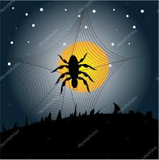 halloween spiders background halloween spider background u2014 stock vector sdp creations 59614527