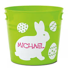 personalized easter personalized easter buckets lillian vernon