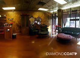 diamond coat epoxy flooring is a great way to refinish your floor