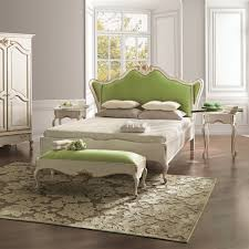 white louis reproduction winged luxury bed juliettes interiors