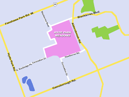 Ontario Blank Map by Hyde Park Meadows Drewlo Holdings