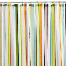 Echo Design Curtains Stripe Shower Curtain Echo Design ã ã â Shop Designer Scarves