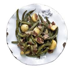meatless mountain green beans with potatoes recipe eatingwell