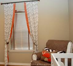Curtains For Nursery by Brown Curtains For Nursery Amazing Woodland Curtainea 1600x1438