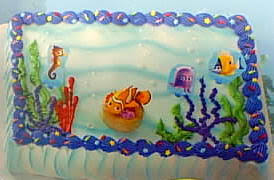 nemo cake toppers cybercakes cake decorating candy and cookie supplies