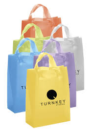wholesale personalized shopping bags plastic bags
