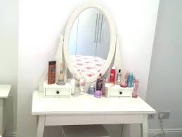 ikea vanity table with mirror and bench ikea makeup table paulineganty com