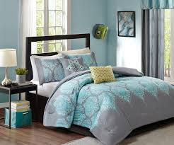 Full Size Comforter Sets Enthralling 8 Piece Blanca Aqua Comforter Set Queen 5 To Alluring