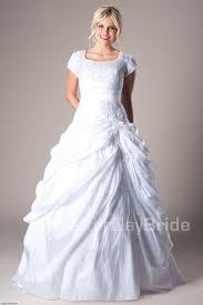 mormon wedding dresses lds modest wedding dresses weddingcafeny