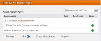 financial aid priority deadline may ventura college