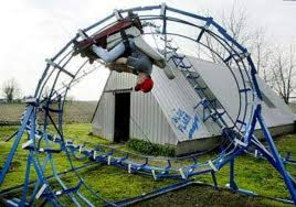backyard theme park the roller coaster is a popular amusement ride developed for