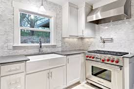 Kitchen Backsplash White 100 Carrara Marble Kitchen Backsplash Kitchen Room Marble