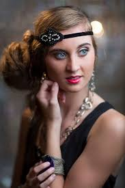 great gatsby womens hair styles art deco headpiece black great gatsby wedding headpiece bridal