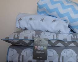 Cot Bed Duvet Cover Boys Elephant Bedding Etsy