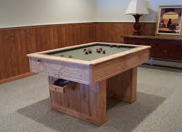 slate bumper pool table billiards