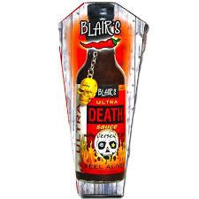 sriracha keychain blair u0027s ultra death sauce sauce with skull keychain in a