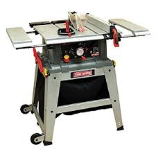 craftsman 10 inch table saw motor craftsman 10 table saw with laser trac 21807 power table saws