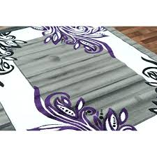 Purple And Black Area Rugs Purple And Black Area Rugs Thelittlelittle