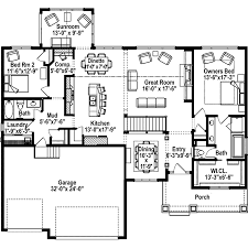 ranch home layouts green orchard ranch home plan 072d 1108 house plans and more