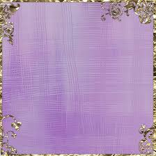 floral foil purple with gold floral foil scrapbook paper by caffeine2 on