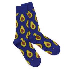 s avocado socks mens socks foodie accessories uncommongoods